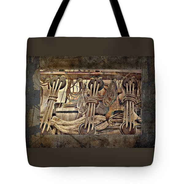 Lashings Tote Bag by Holly Kempe