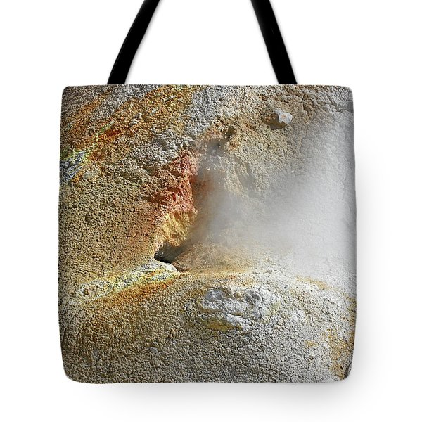 Lassen Volcanic National Park - Living Museum Of Vulcanism Tote Bag by Christine Till