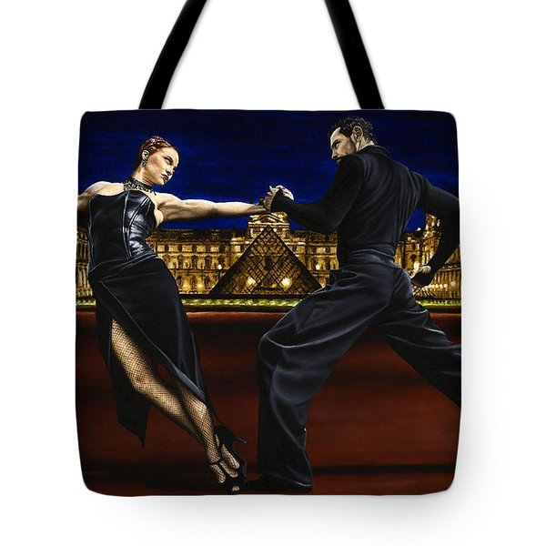 Last Tango In Paris Tote Bag by Richard Young