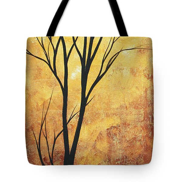 Last Tree Standing By Madart Tote Bag by Megan Duncanson