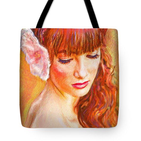 Latina Beauty Tote Bag by Jane Schnetlage