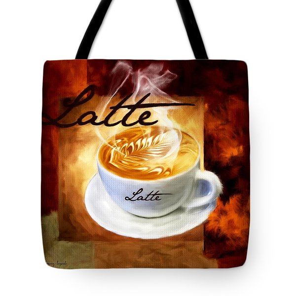 Latte Tote Bag by Lourry Legarde