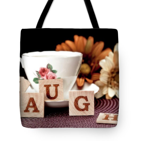 Laugh Tote Bag by Tom Mc Nemar