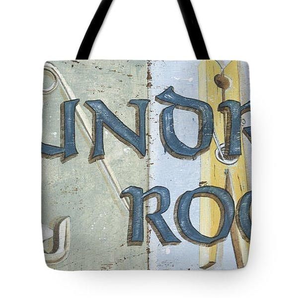 Laundry Room  Tote Bag by Debbie DeWitt