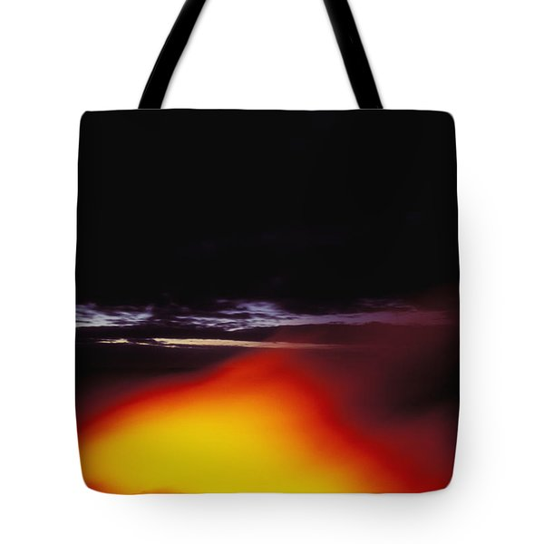 Lava And Moon Tote Bag by William Waterfall - Printscapes