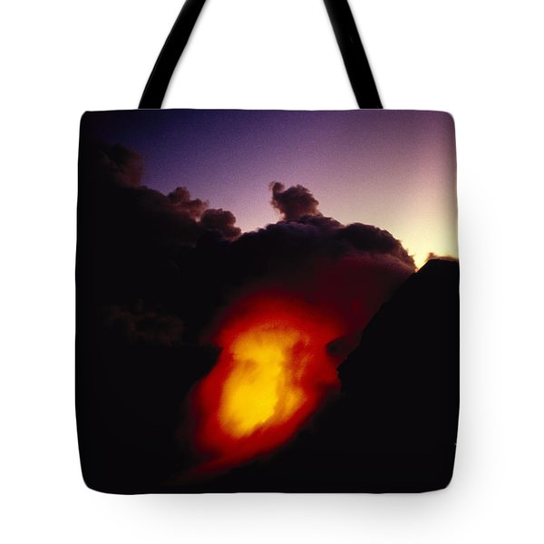 Lava At Dawn Tote Bag by Ron Dahlquist - Printscapes