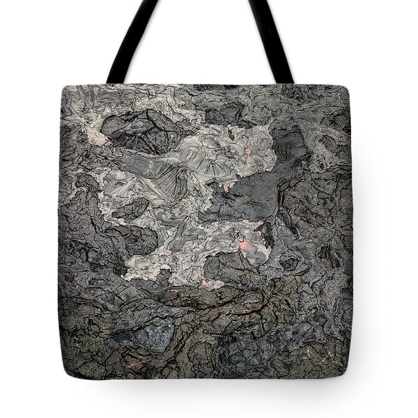 Tote Bag featuring the photograph Lava Flow by M G Whittingham