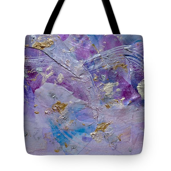 Lavender Haze Tote Bag by Don  Wright