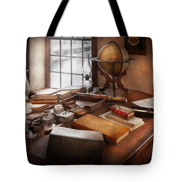 Lawyer - The Adventurer  Tote Bag by Mike Savad