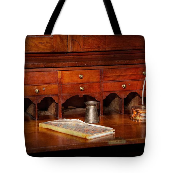Lawyer  - The Written Law  Tote Bag by Mike Savad