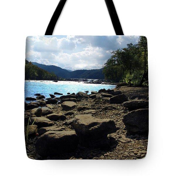 Layers of beauty II Tote Bag by Lj Lambert