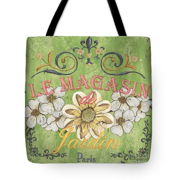Le Magasin De Jardin Tote Bag by Debbie DeWitt