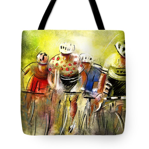 Le Tour De France 07 Tote Bag by Miki De Goodaboom
