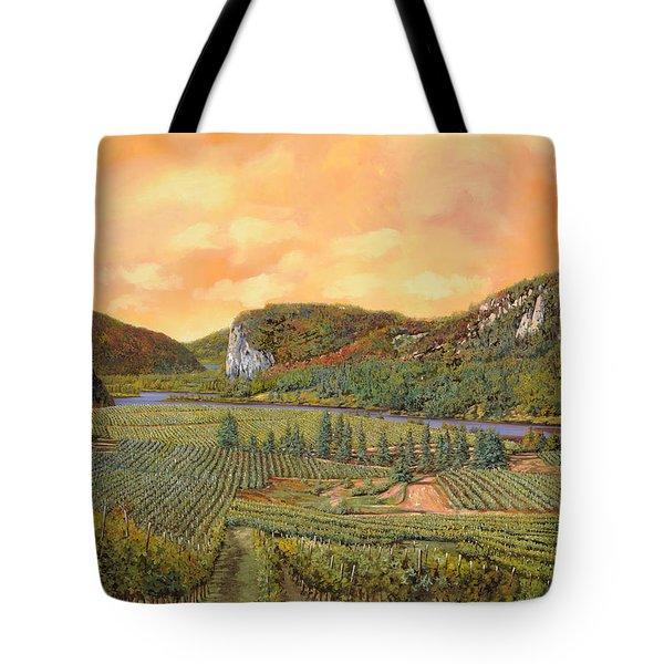 le vigne nel 2010 Tote Bag by Guido Borelli