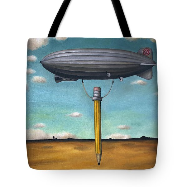 Lead Zeppelin Tote Bag by Leah Saulnier The Painting Maniac