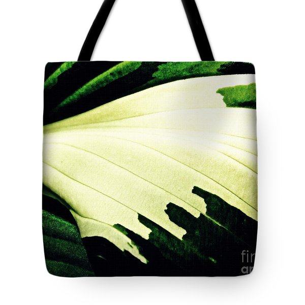 Leaf Abstract 7 Tote Bag by Sarah Loft