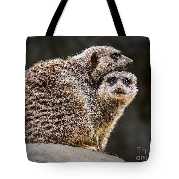 Lean On Me Tote Bag by Jamie Pham