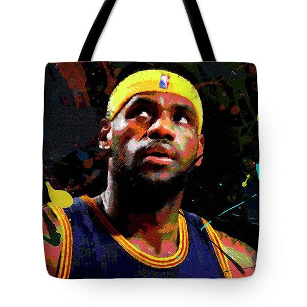 Lebron Tote Bag by Richard Day