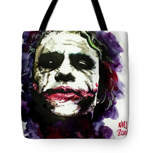 Ledgerjoker Tote Bag by Ken Meyer jr