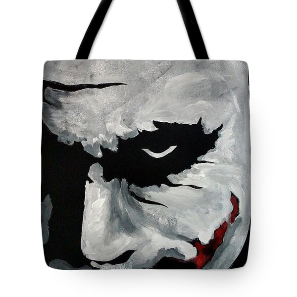 Ledger's Joker Tote Bag by Dale Loos Jr