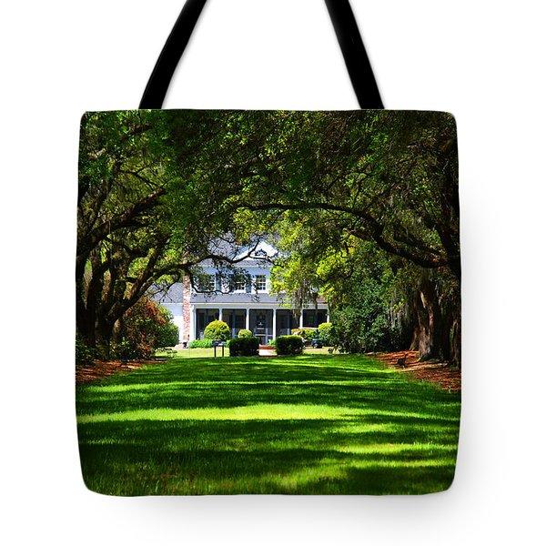 Legare Waring House Charleston Sc Tote Bag by Susanne Van Hulst