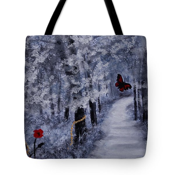 Legend Of A Girl Child Tote Bag by Stanza Widen