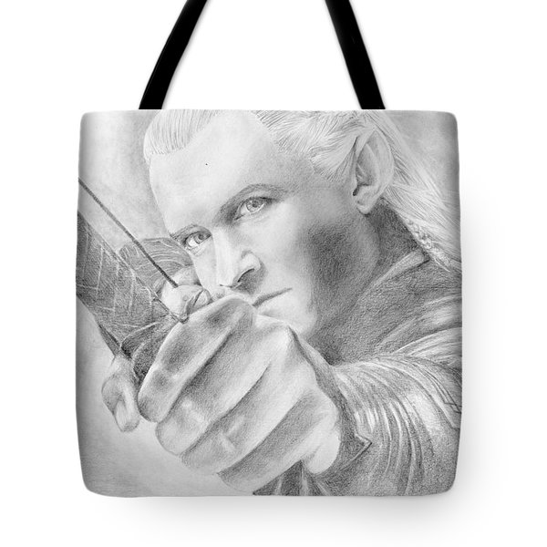Legolas Greenleaf Tote Bag by Bitten Kari
