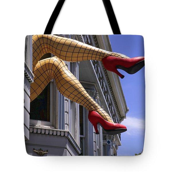 Legs Haight Ashbury Tote Bag by Garry Gay