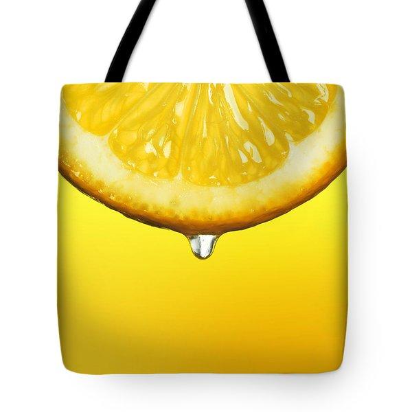 Lemon Drop Tote Bag by Mark Rogan