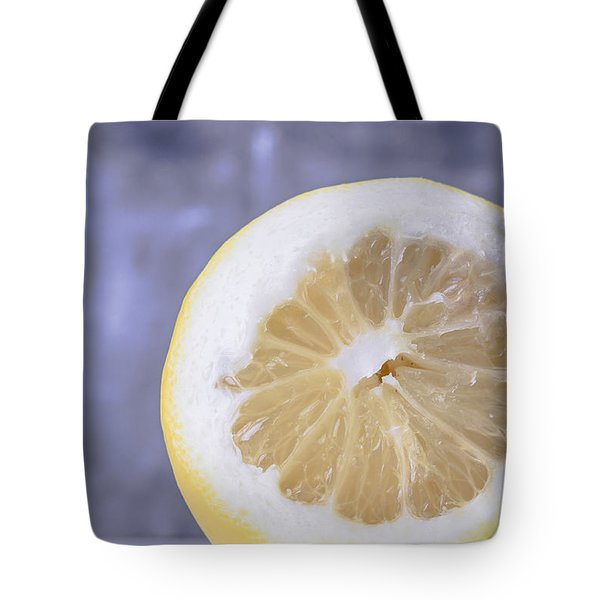 Lemon Half Tote Bag by Edward Fielding
