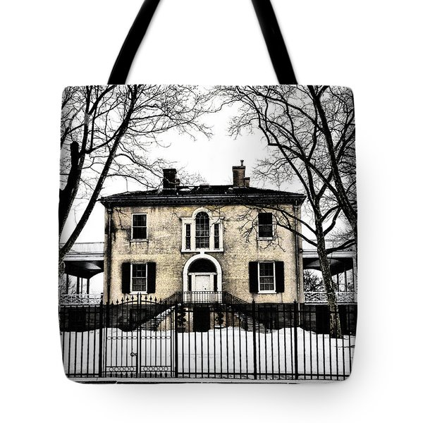 Lemon Hill Mansion - Philadelphia Tote Bag by Bill Cannon