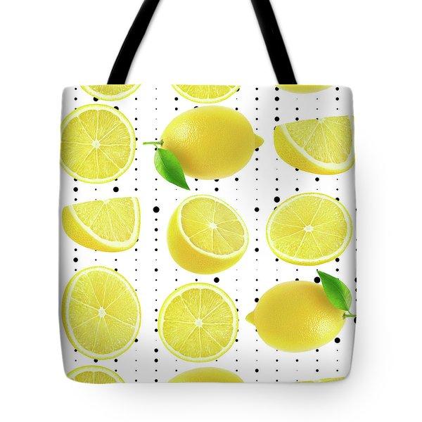 Lemon  Tote Bag by Mark Ashkenazi