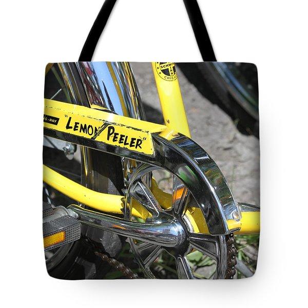 Lemon Peeler Tote Bag by Lauri Novak