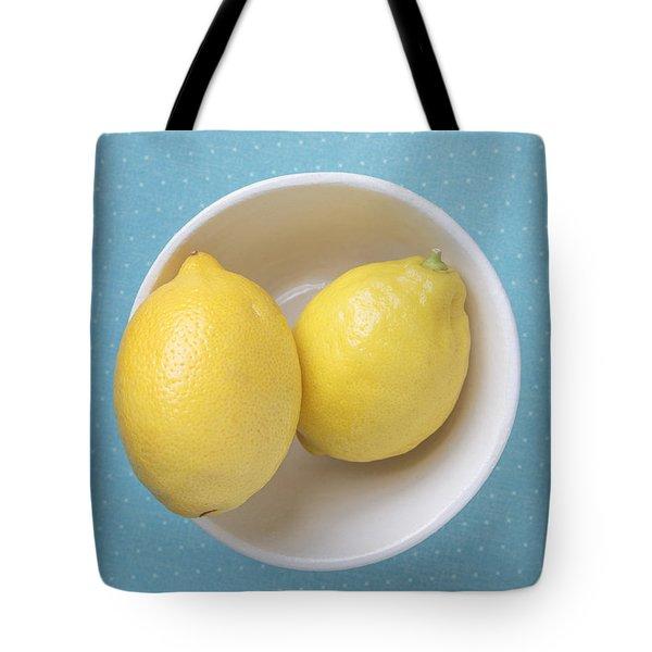 Lemon Pop Tote Bag by Edward Fielding