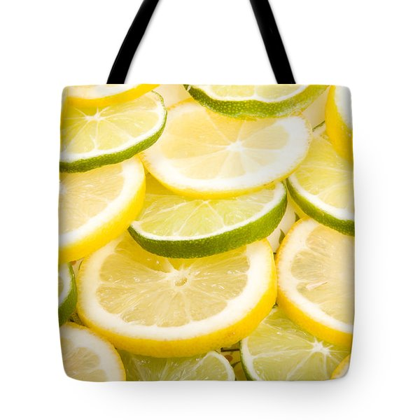 Lemons And Limes Tote Bag by James BO  Insogna