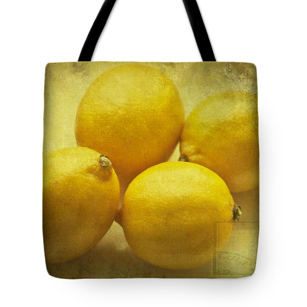 Lemons Tote Bag by Nomad Art And  Design