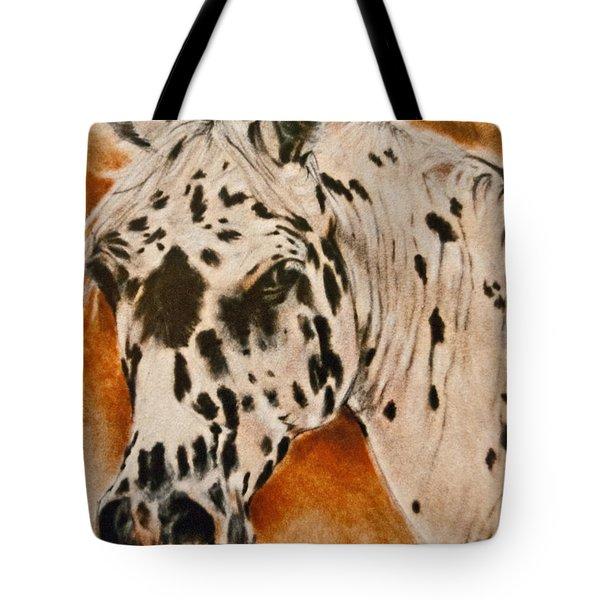 Leopard Appy Tote Bag by Jani Freimann