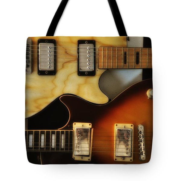 Les Paul - Come Together Tote Bag by Bill Cannon