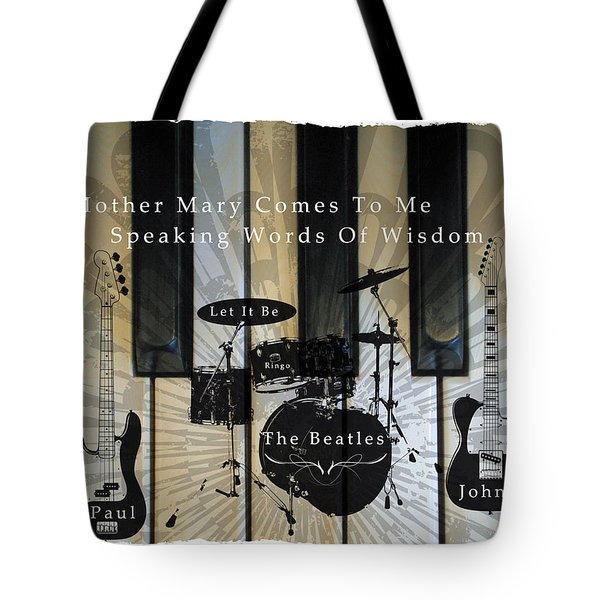Let It Be Tote Bag by Michael Damiani