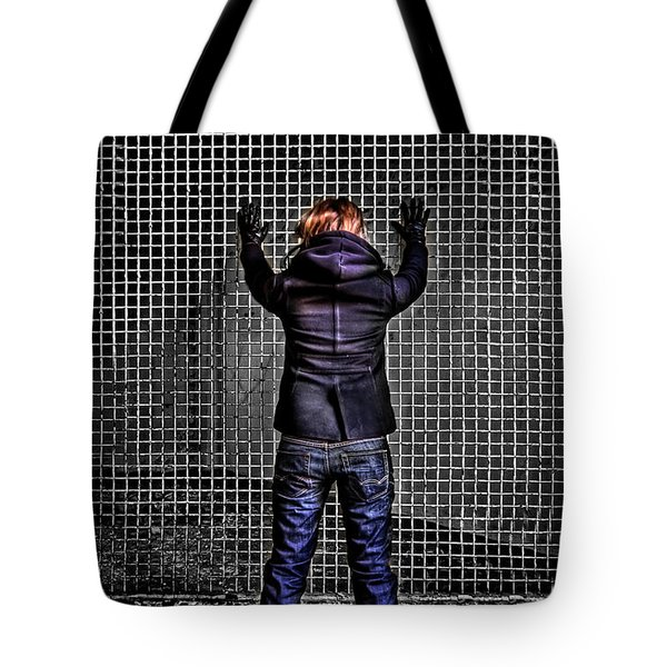 Let Your Wall Fall Down Tote Bag by Evelina Kremsdorf