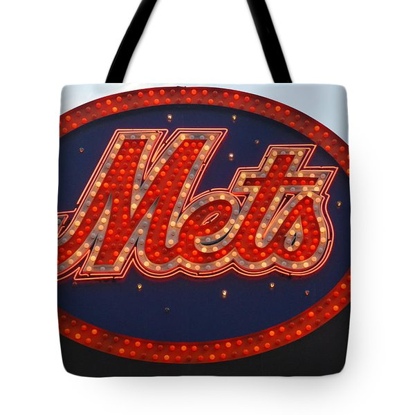 Lets Go Mets Tote Bag by Richard Bryce and Family