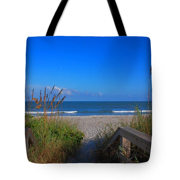 Lets go to the beach Tote Bag by Susanne Van Hulst