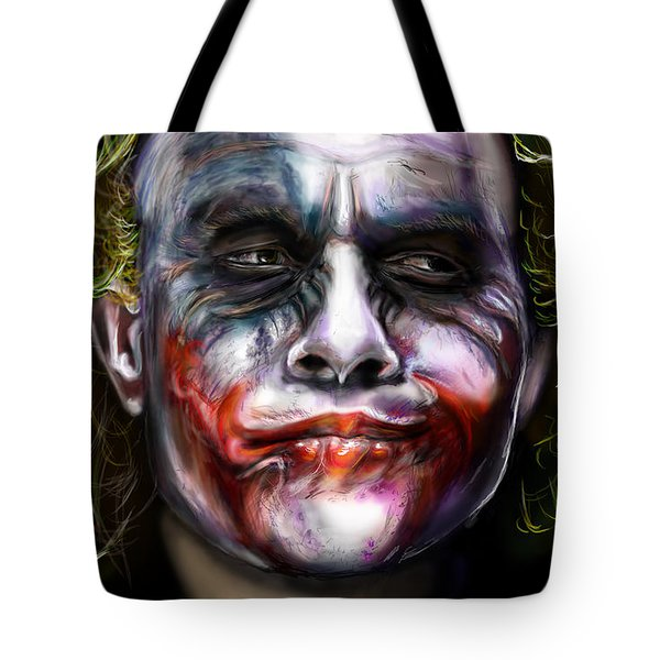 Let's Put A Smile On That Face Tote Bag by Vinny John Usuriello