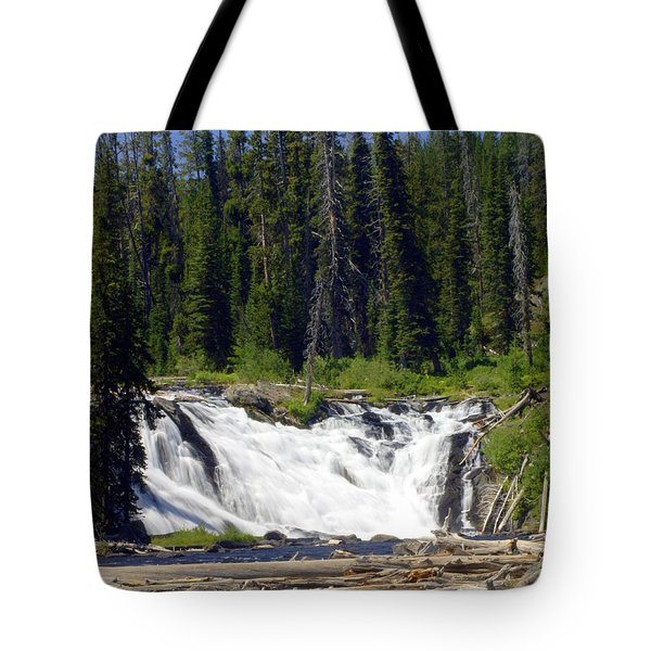 Lewis Falls Tote Bag by Marty Koch