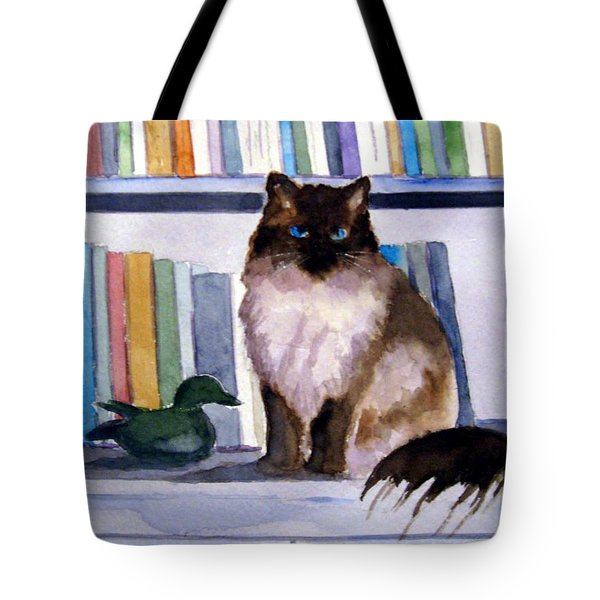 Lhasa Tote Bag by Marsha Elliott