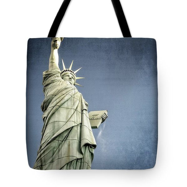 Liberty Enlightening The World Tote Bag by Charles Dobbs