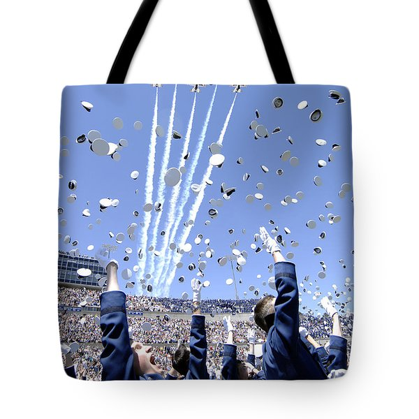 Lieutenants Commemorate Tote Bag by Stocktrek Images