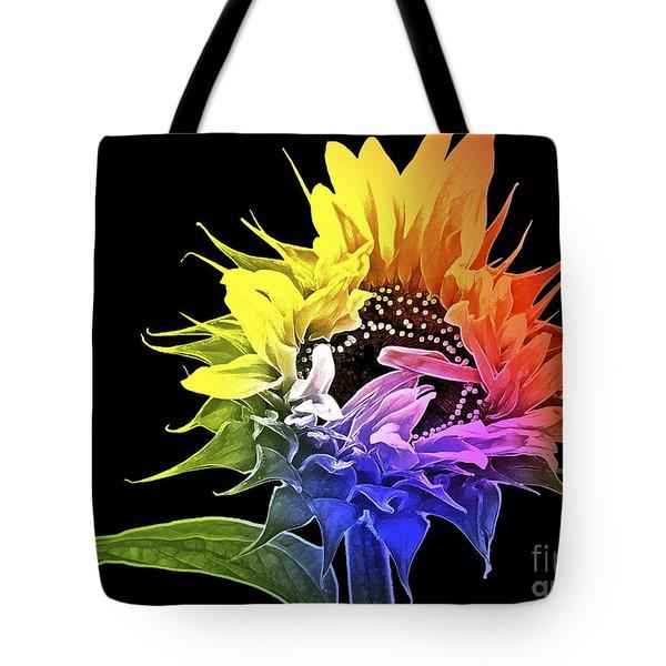 Life Is Like A Rainbow ... Tote Bag by Gwyn Newcombe