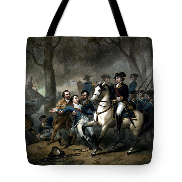 Life Of George Washington - The Soldier Tote Bag by War Is Hell Store