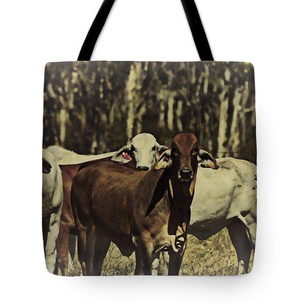 Life On The Farm V3 Tote Bag by Douglas Barnard
